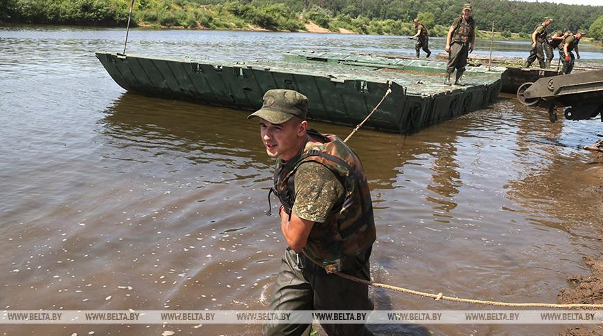 Белорусские инженерные войска готовятся к АрМИ-2021