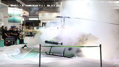 Разведывательно-ударный беспилотный вертолет Hunter представлен на выставке MILEX