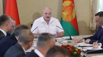Лукашенко провел совещание о перспективах развития Гродненской области