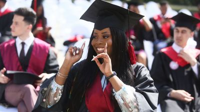 Иностранным студентам Гродненского медуниверситета вручили дипломы