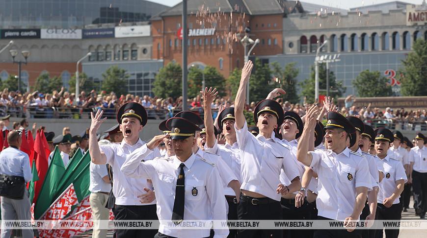 В Академии МВД прошел торжественный выпуск лейтенантов
