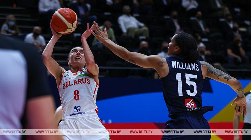 Белорусские баскетболистки проиграли Франции в полуфинале чемпионата Европы
