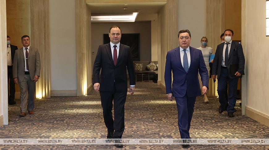 Переговоры премьер-министров Беларуси и Казахстана прошли в Нур-Султане
