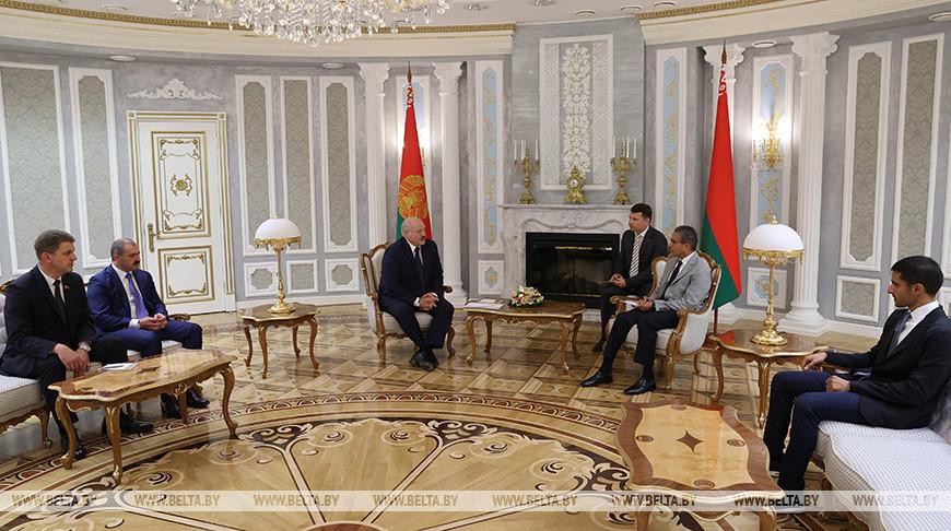 Лукашенко встретился с основателем компании Emaar Properties Мохамедом Али Алаббаром