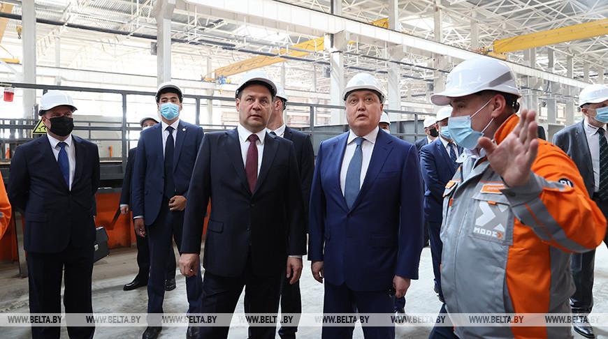 Головченко посетил казахстанское предприятие ModeX