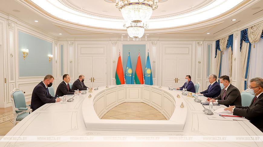 Головченко встретился с президентом Казахстана