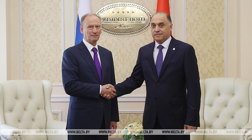 Встреча Вольфовича и Патрушева прошла в Минске