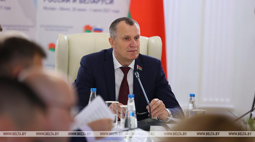 Заседание межпарламентской комиссии Совета Республики и Совета Федерации