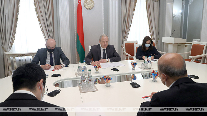 Сергеенко встретился с послом Китая