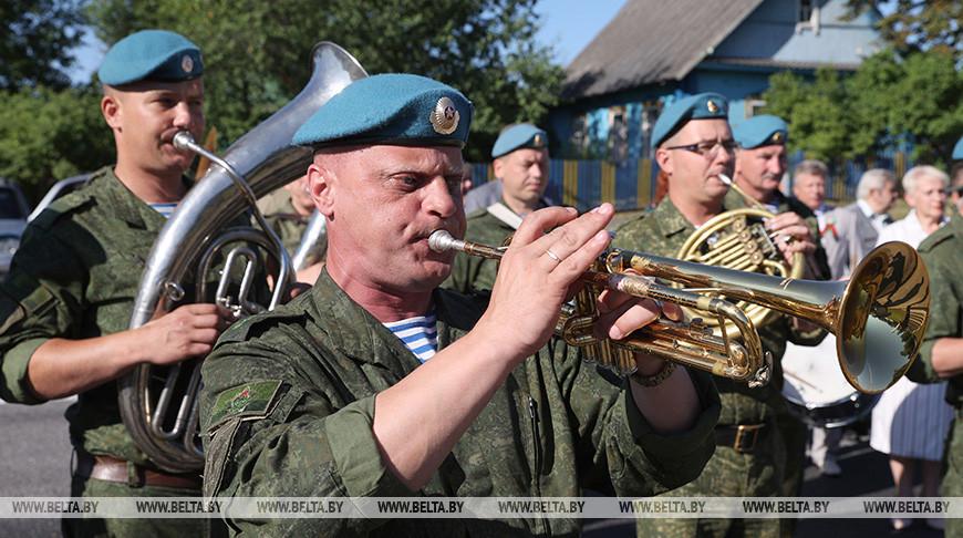 Останки 47 красноармейцев перезахоронили в Лиозненском районе
