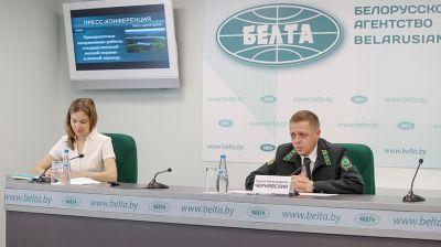Пресс-конференция о работе лесной охраны в летний период прошла в БЕЛТА
