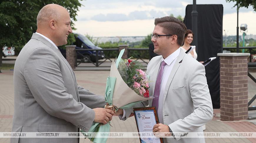 """В Могилеве состоялось вручение ежегодной премии """"Достижение"""""""