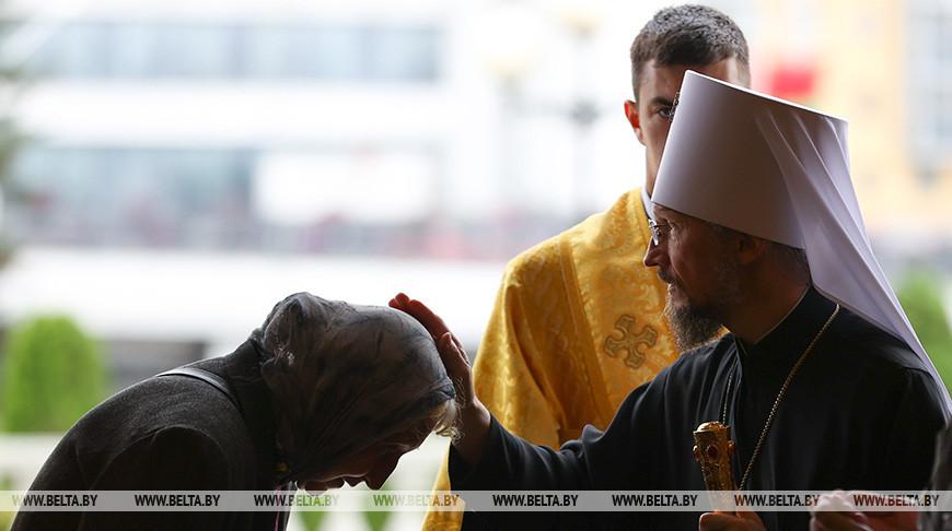 Молитва за Беларусь звучала в Свято-Духовом кафедральном соборе