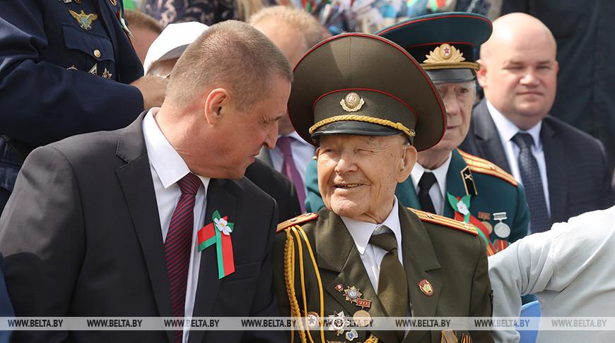 Торжества в честь Дня Независимости и 80-летия обороны Могилева прошли на Буйничском поле