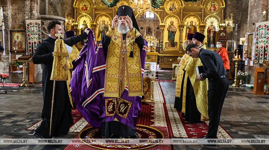 За Беларусь молились в Свято-Николаевском гарнизонном соборе Бреста