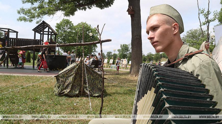 Могилевчане празднуют День Независимости