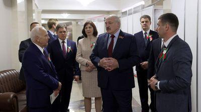 Лукашенко посетил Большой театр