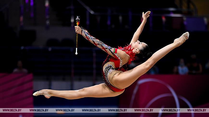 Этап Кубка мира по художественной гимнастике проходит в Минске