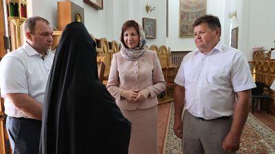 """""""Гомельтранснефть Дружба"""" передала женскому монастырю в Полоцке базу отдыха"""