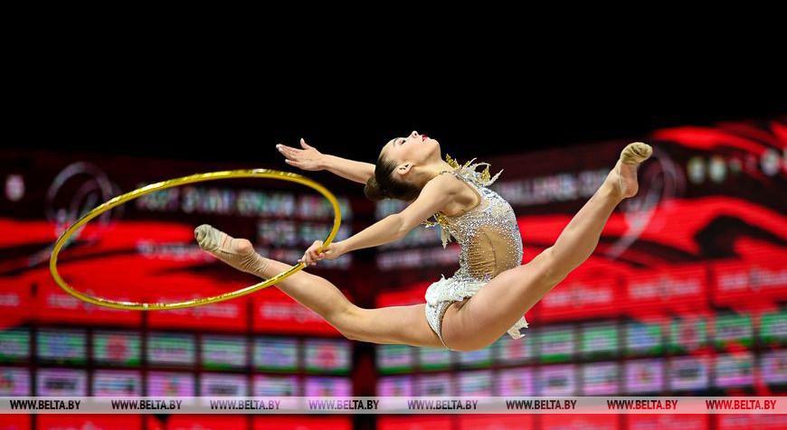 Девять медалей выиграли белоруски на этапе КМ по художественной гимнастике в Минске