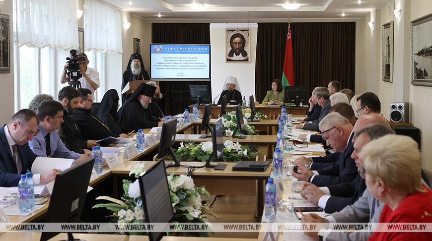 Выездное заседание Президиума Совета Республики проходит в Полоцке