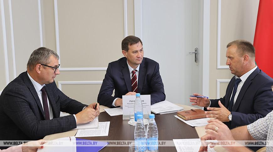 Рыженков провел прием граждан в Брагинском районе