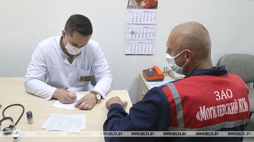В Могилевской области работают выездные бригады по вакцинации от коронавируса
