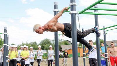 Площадка для занятий воркаутом открылась в Борисовском районе