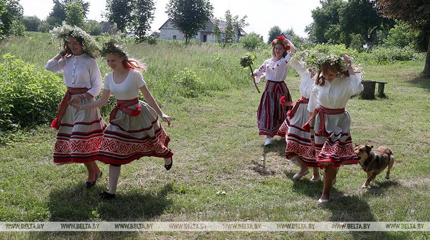 В Могилевском районе восстановили народный обряд на День Петра и Павла