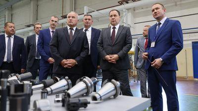 Головченко посетил Оршанский инструментальный завод