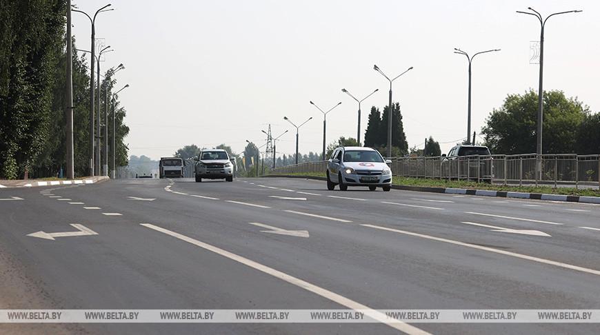 В Витебске завершается реконструкция улицы Гагарина
