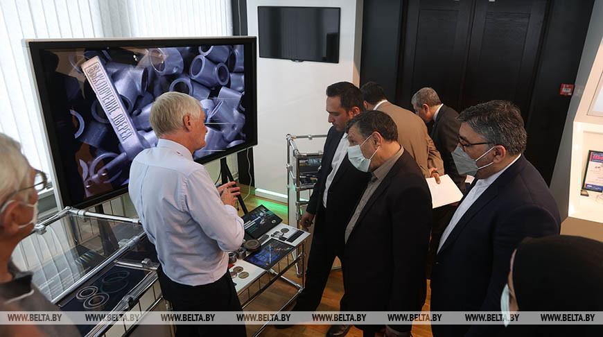 Иранские парламентарии посетили научно-технологический парк БНТУ и Министерство промышленности