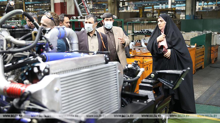 Иранские парламентарии посетили МАЗ