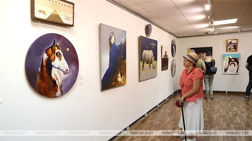 Выставка анималистических картин открылась в Минске