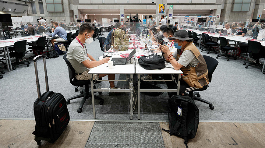В Токио начал работу главный пресс-центр Олимпиады