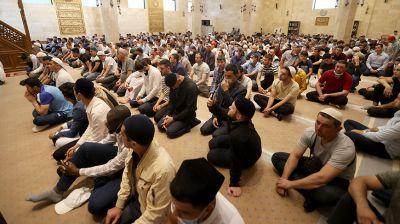 Мусульмане Беларуси празднуют Курбан-байрам