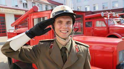 В Гомельском областном управлении МЧС прошло торжественное мероприятие ко Дню пожарной службы