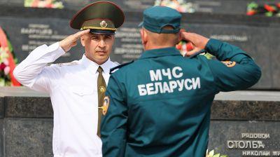 Спасатели Брестской области приняли присягу