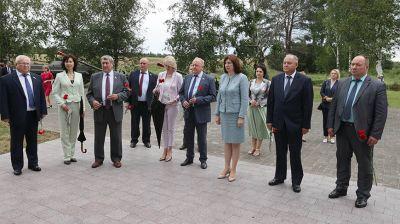 """Члены Президиума Совета Республики посетили мемориальный комплекс """"Прорыв"""""""