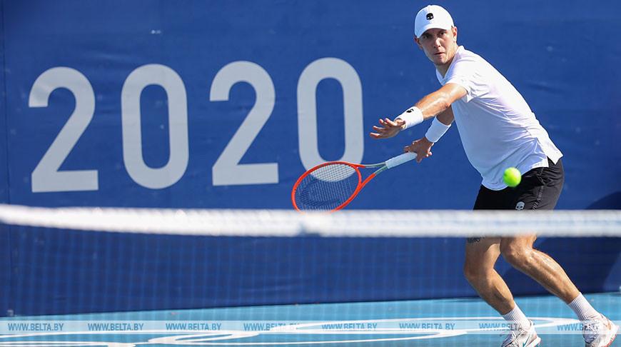 Егор Герасимов пробился в 1/16 финала теннисного турнира Олимпиады