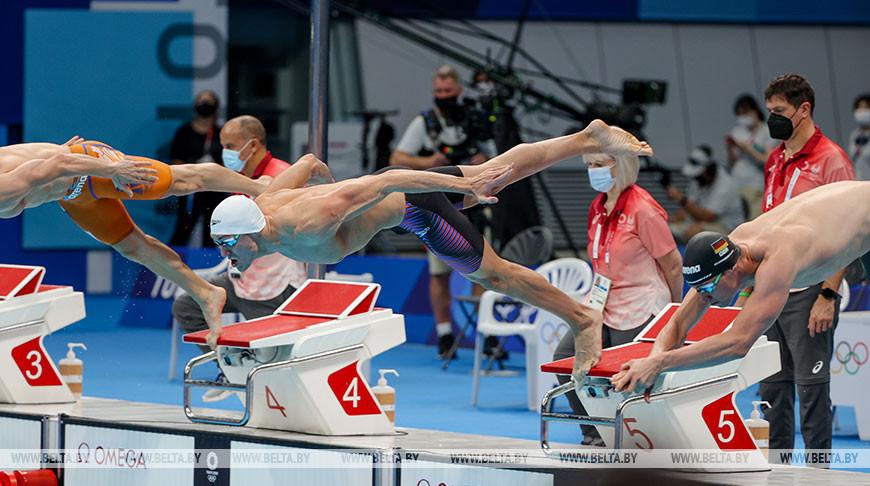 Илья Шиманович квалифицировался в полуфинал олимпийского турнира по плаванию