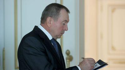 Лукашенко провел рабочую встречу с Макеем