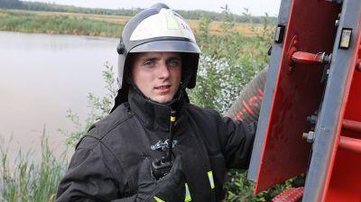 В Петриковском районе тушат пожар на торфянике