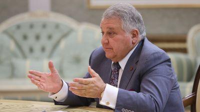 Лукашенко встретился с главой Курчатовского института