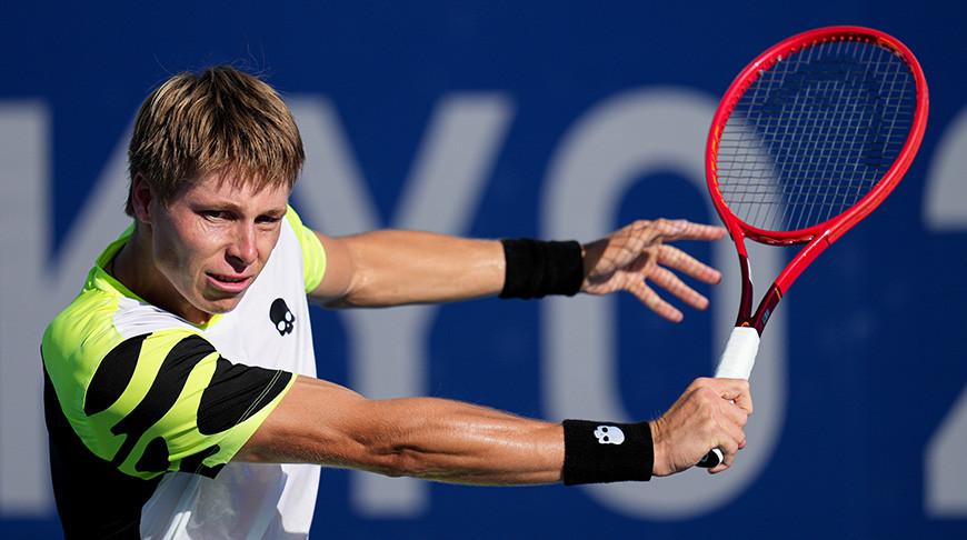 Илья Ивашко вышел в 1/8 финала теннисного турнира Олимпиады