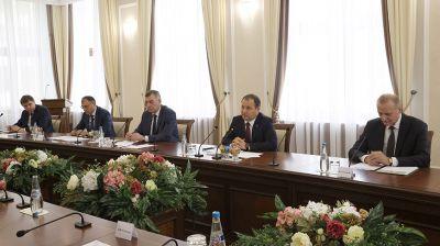 Головченко встретился с руководством Курчатовского института