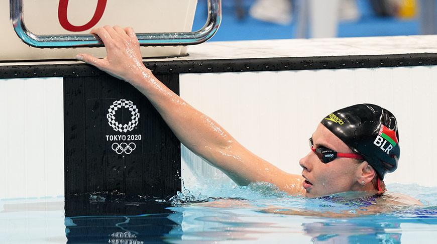 Пловчихи Анастасия Шкурдай и Алина Змушко не вышли в полуфинал Олимпиады