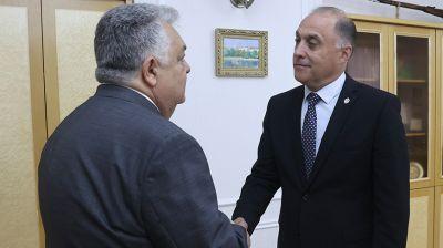 Вольфович встретился с послом Азербайджана