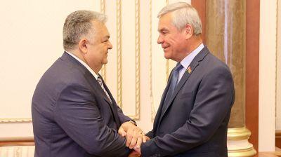 Андрейченко встретился с послом Азербайджана