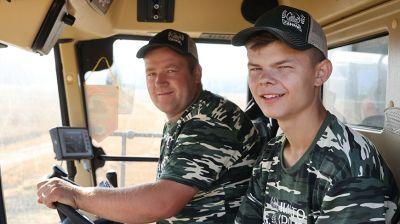 Первый молодежный экипаж-тысячник чествовали в Витебской области
